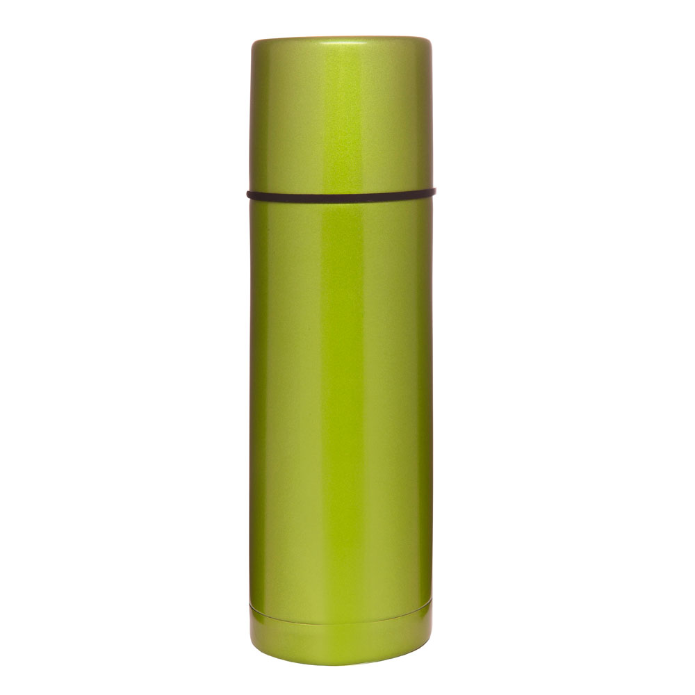 Sagaform Adventure Värmeisolerande vacuumflaska 75 cl, Grön