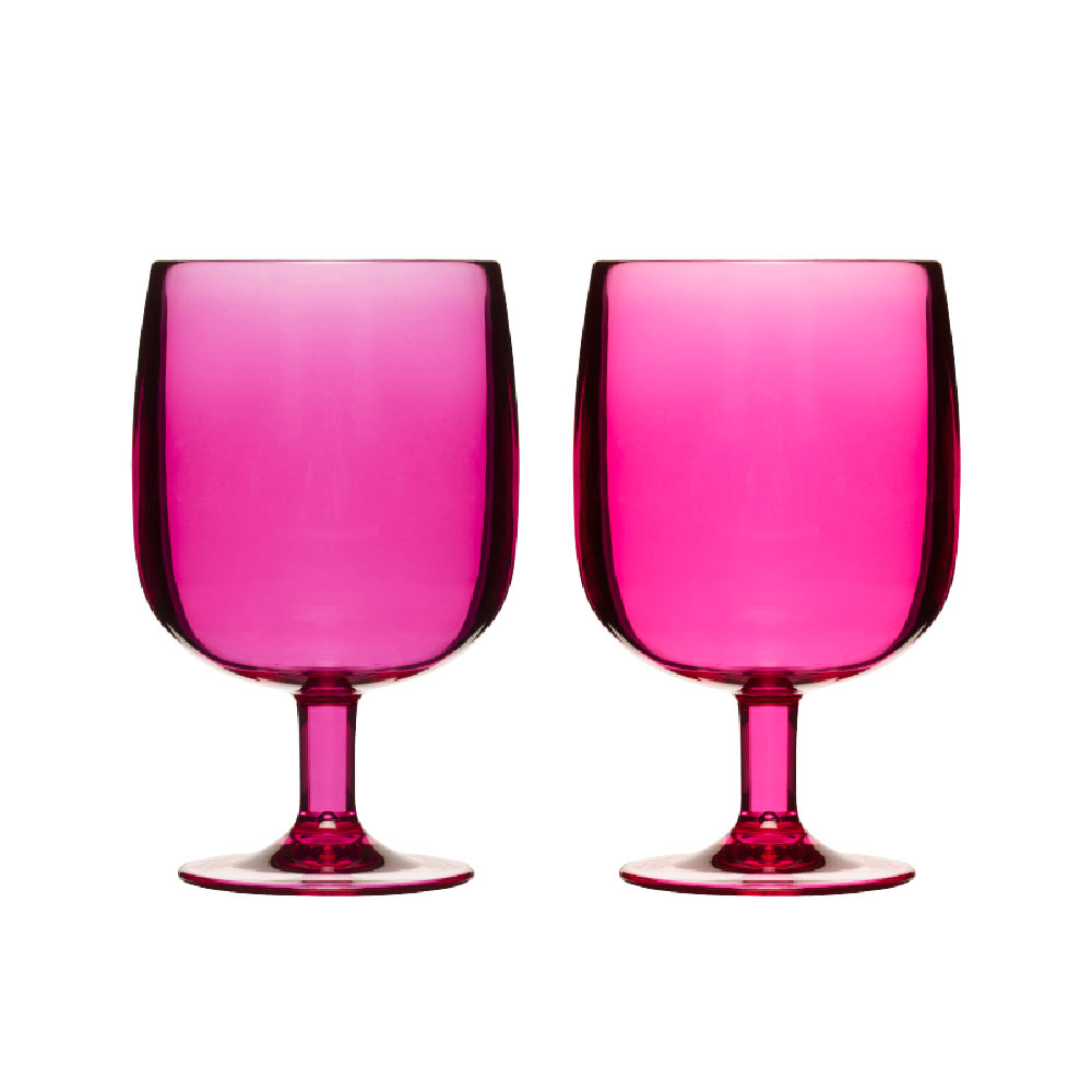 Happy Days Glas 25cl Cerise 2-Pack