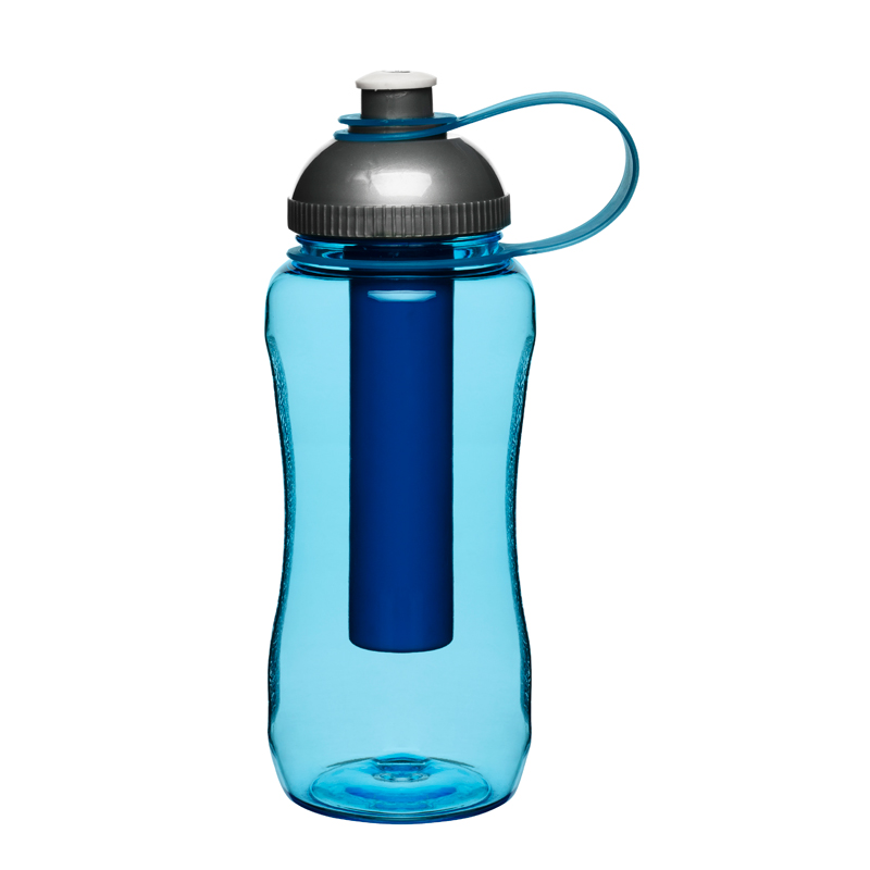 Sagaform Picnic Flaska Med Iskolv, Blå