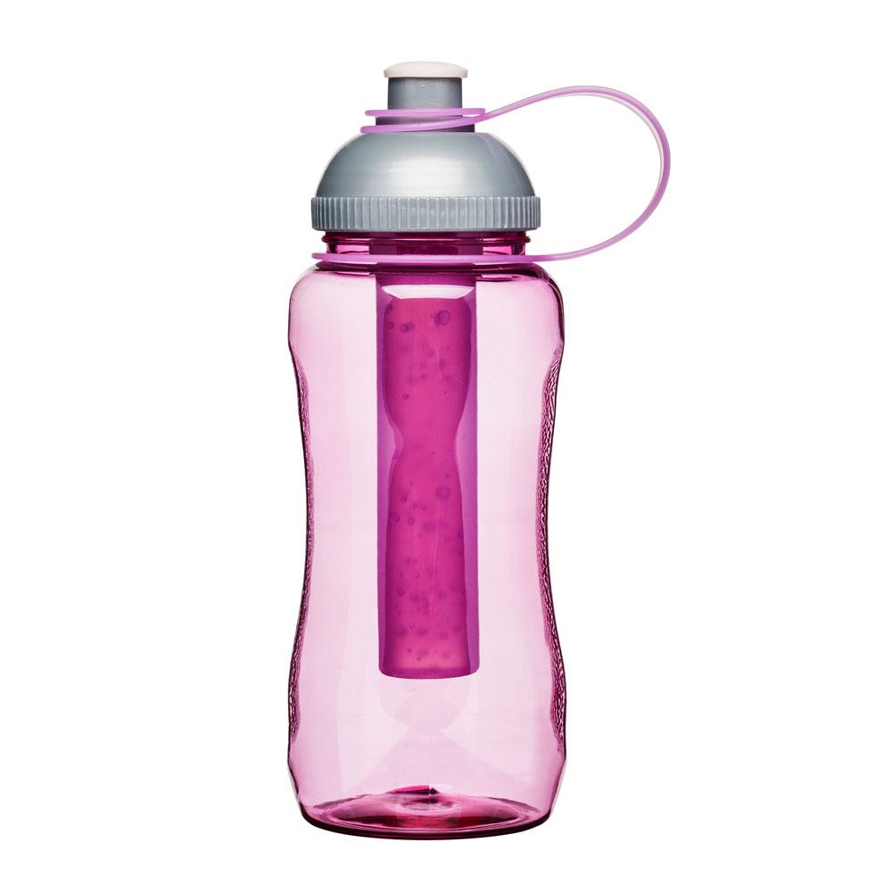 Sagaform Picnic Flaska med iskolv, Rosa, 52 cl