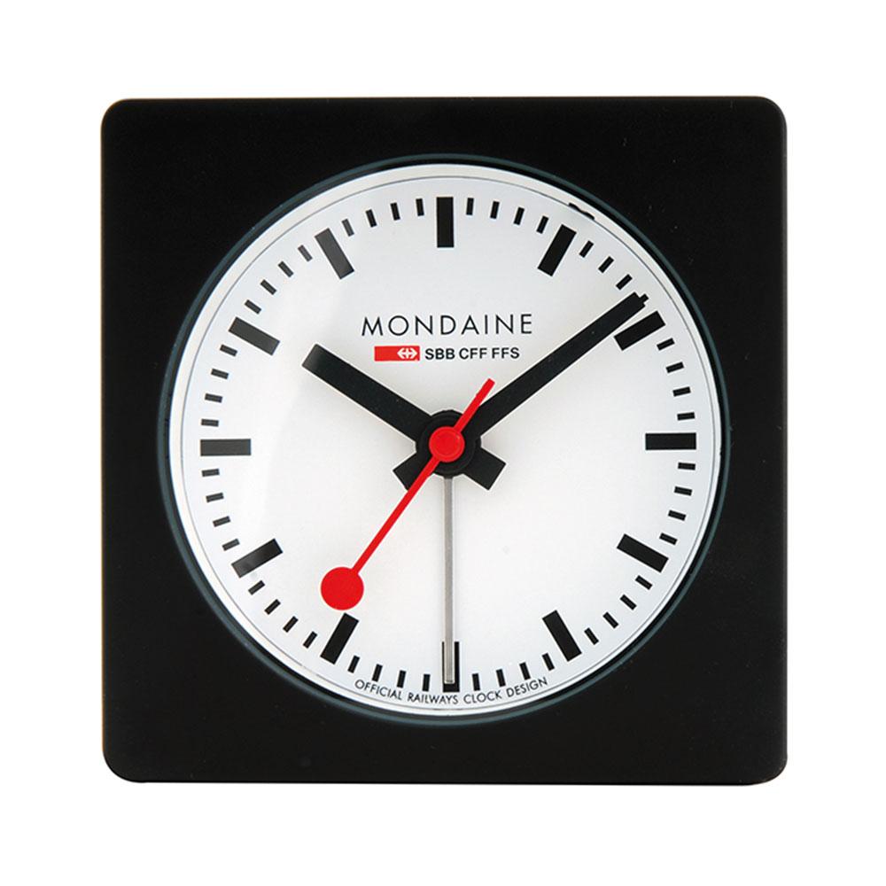 Bordsklocka Med Alarmfunktion, Svart