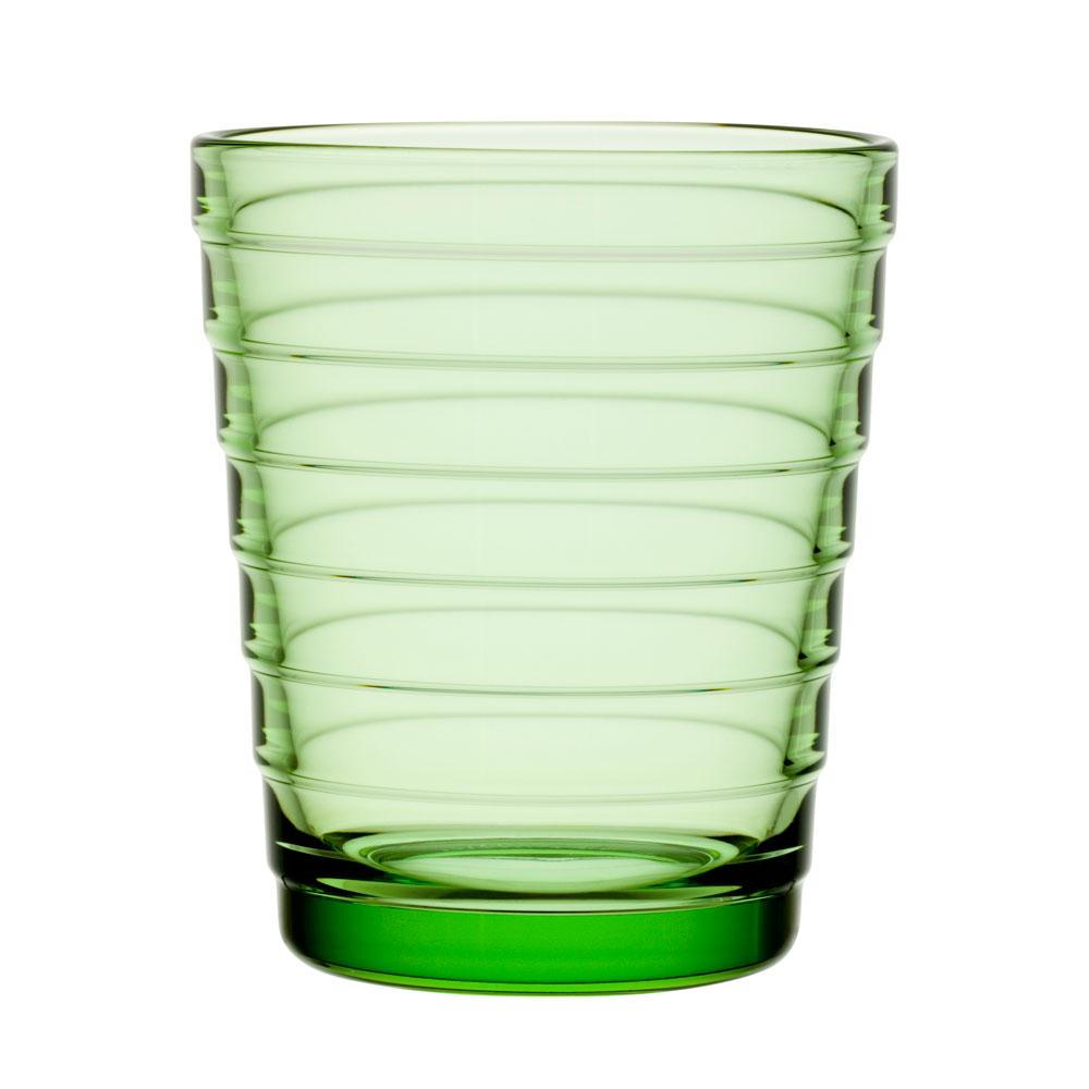 Aino Aalto Dricksglas Äppelgrön 22 cl