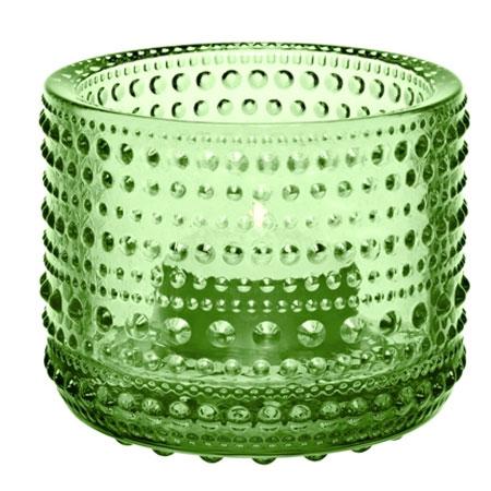 Kastehelmi Ljuslykta Äppelgrön 64 mm
