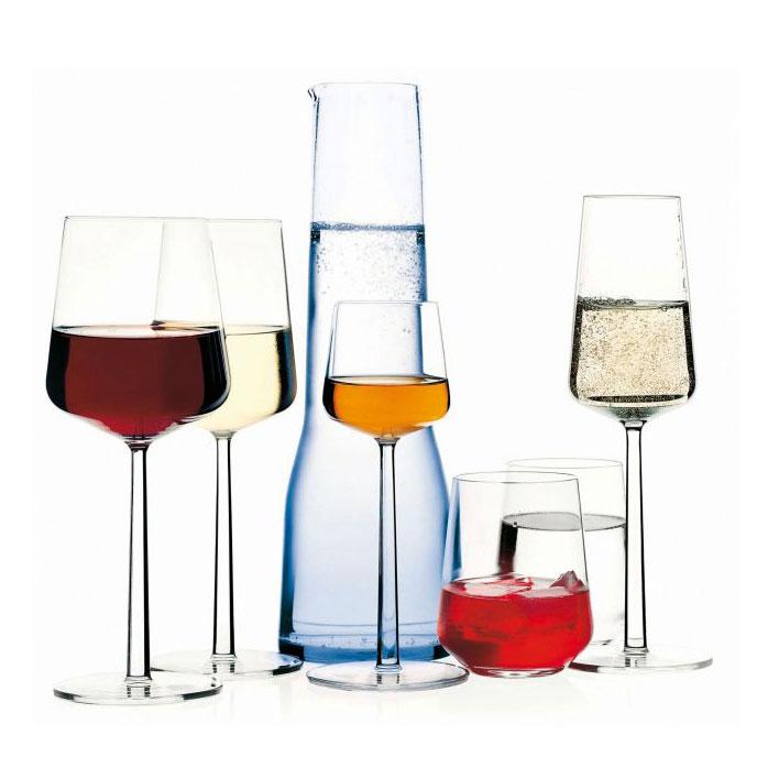 iittala essence rödvinsglas