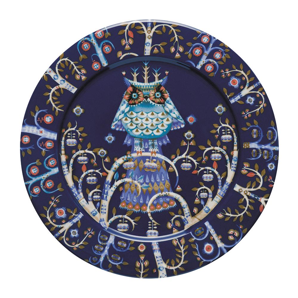 Taika tallrik 27 cm, blå   heikki orvola   iittala   royaldesign.se