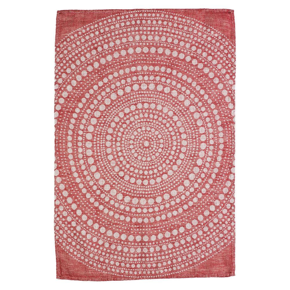 Kastehelmi Kökshandduk 43x67cm Röd