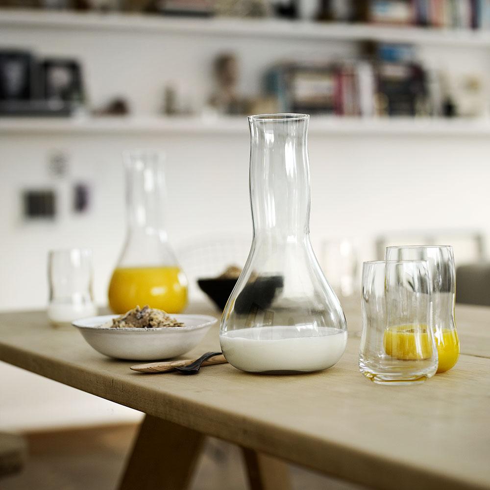 future glas 6 pack 25 cl klar peter svarrer holmegaard. Black Bedroom Furniture Sets. Home Design Ideas