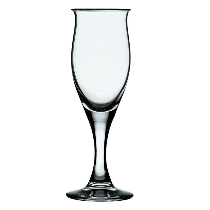 Ideelle Champagneglas