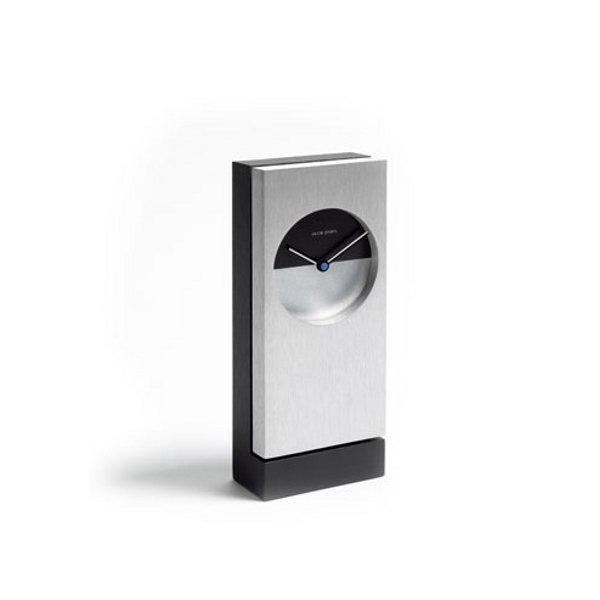 Classic Bordsklocka, Svart/Aluminium