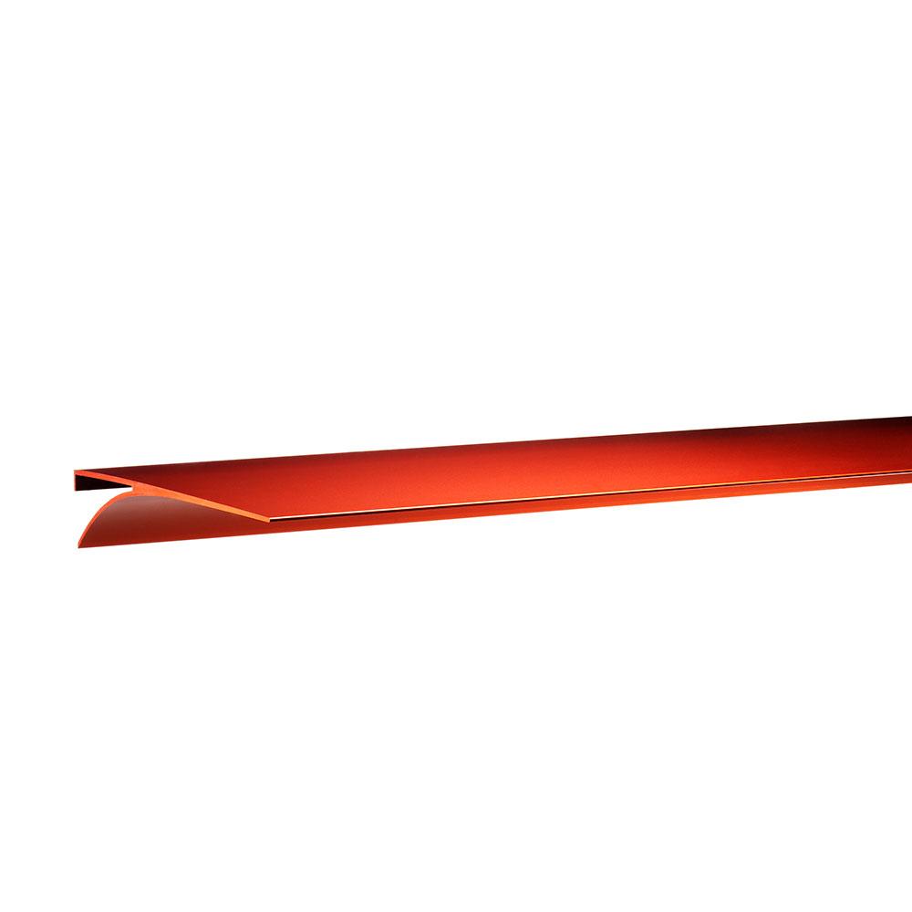 Exilis Basic Vägghylla 28×118 cm Röd