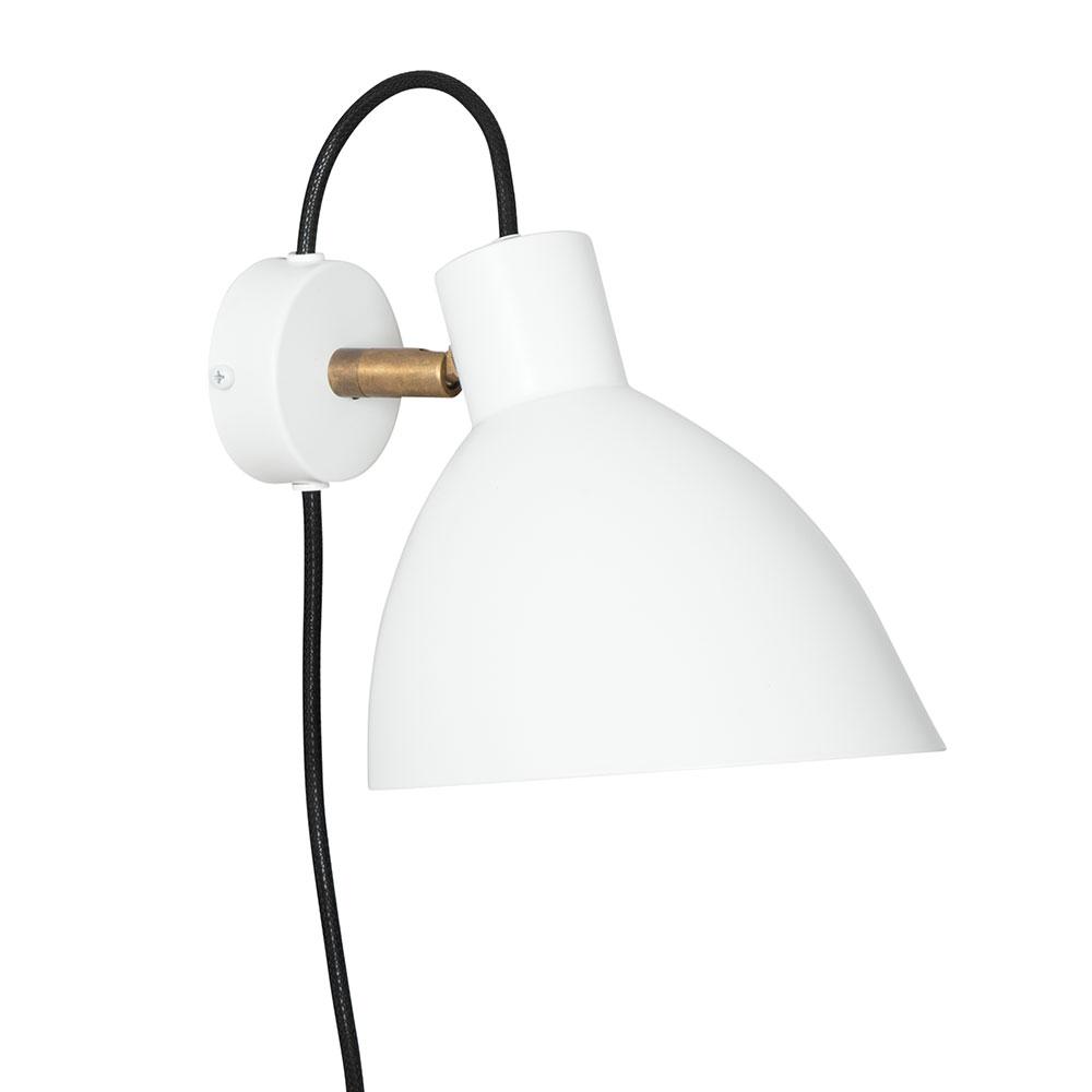 KH#1 Vägglampa Vit