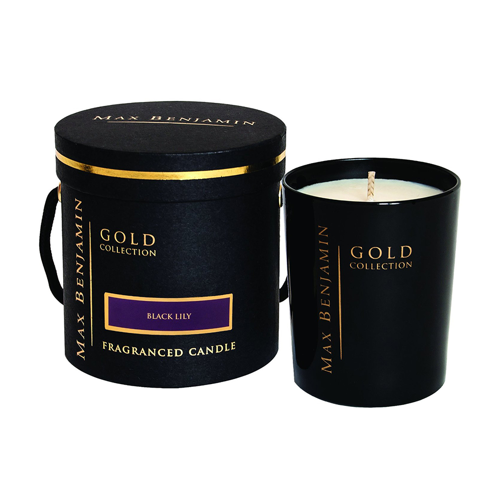 Gold Collection Doftljus Black Lily