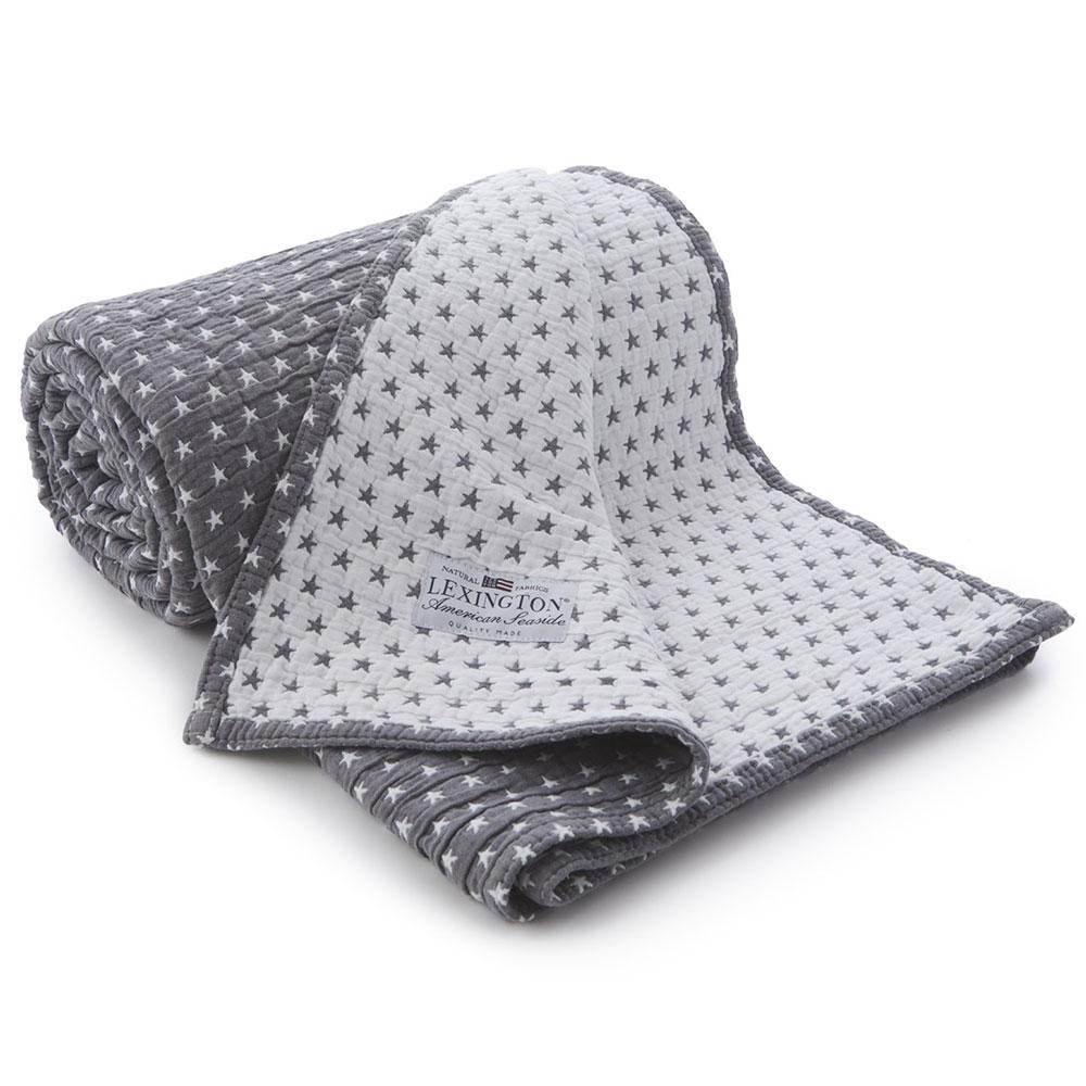 star bedspread verkast 160x240cm gr lexington. Black Bedroom Furniture Sets. Home Design Ideas