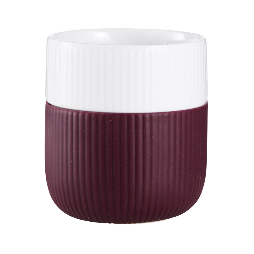 Contrast mugg 33 cl Plommon