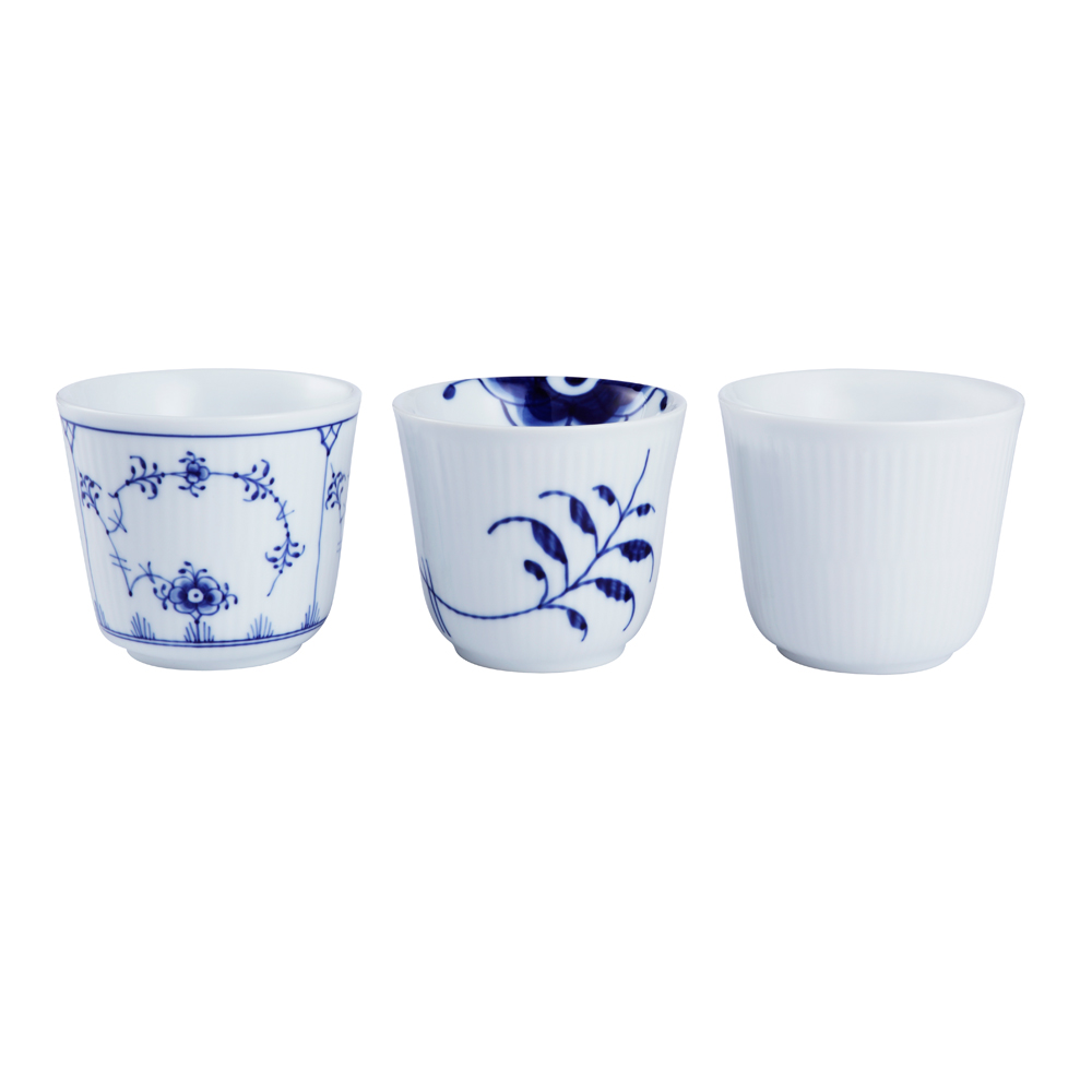 History Mix Thermal Mugg, 3-pack, Royal Copenhagen