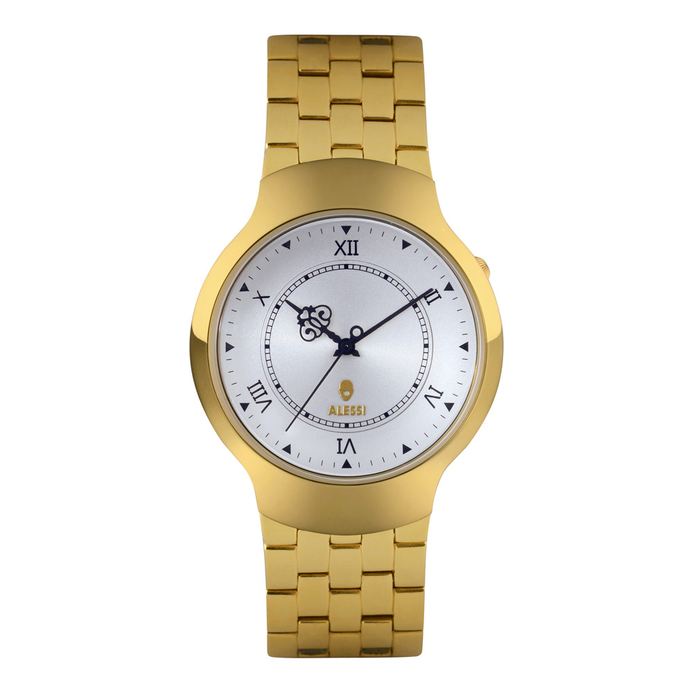 Alessi Dressed Armbandsur, Guld