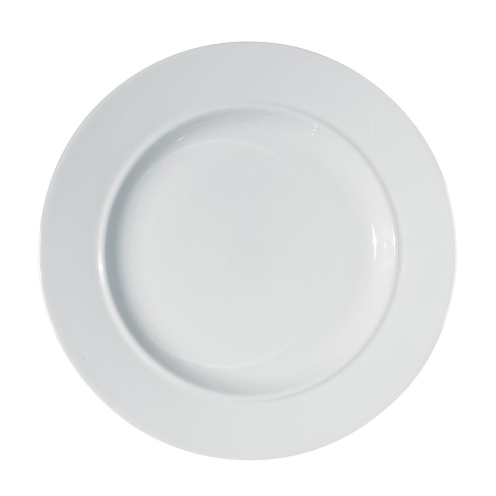 La bella tavola dessert tallrik 21 cm vit alessi - Alessi la bella tavola ...