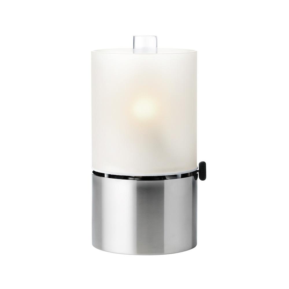 Oljelampa Rostfritt Stål/Glas