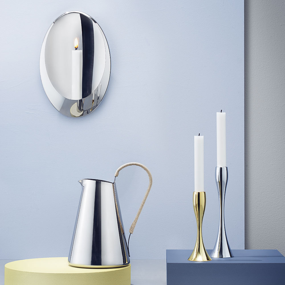 Reflection Ljusstake 23cm, Mirror, Stelton
