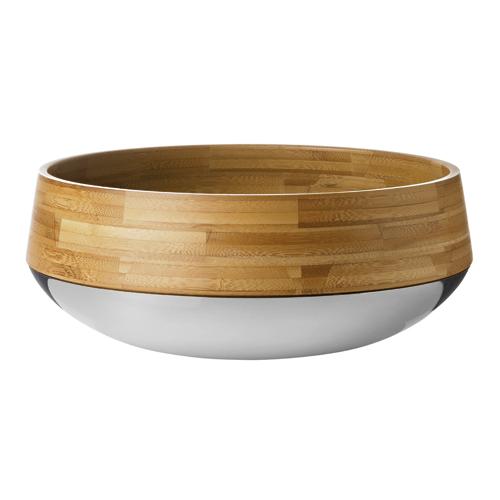 Kontra Frukt-/salladsskål ø 29 cm Bambu/stål