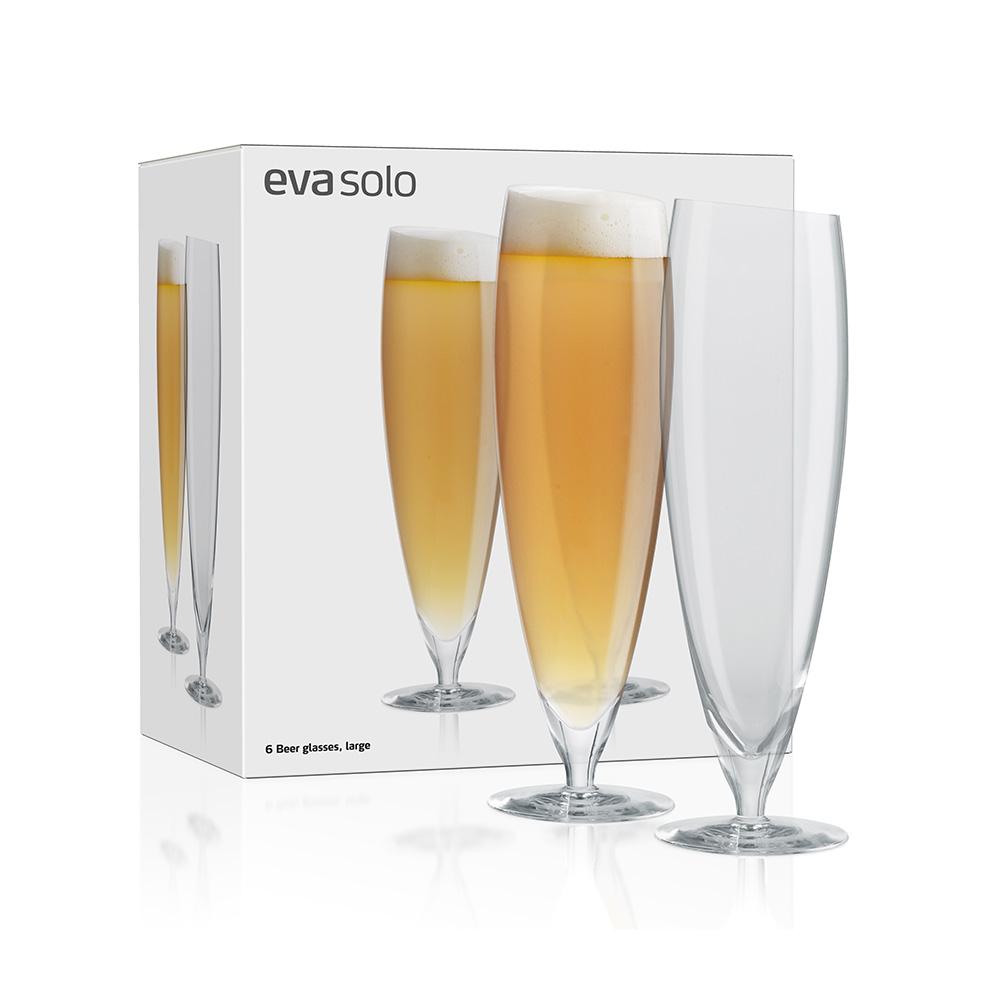 Ölglas 50cl, 6-pack, Eva Solo
