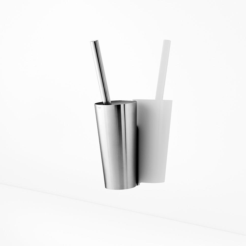 Attraktiva Eva Solo Toalettborste, vägghängd, borstat stål - present/presenttips SD-55