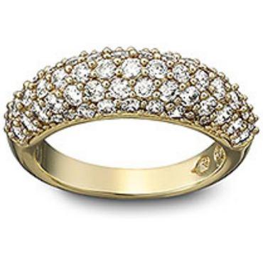 Maeva Ring Guld/Klar