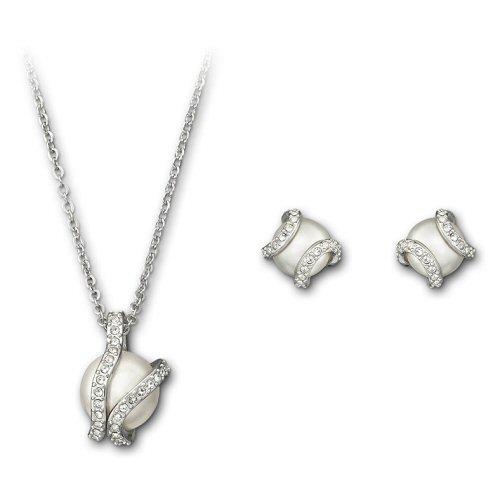 Nude Set Halsband & Örhängen