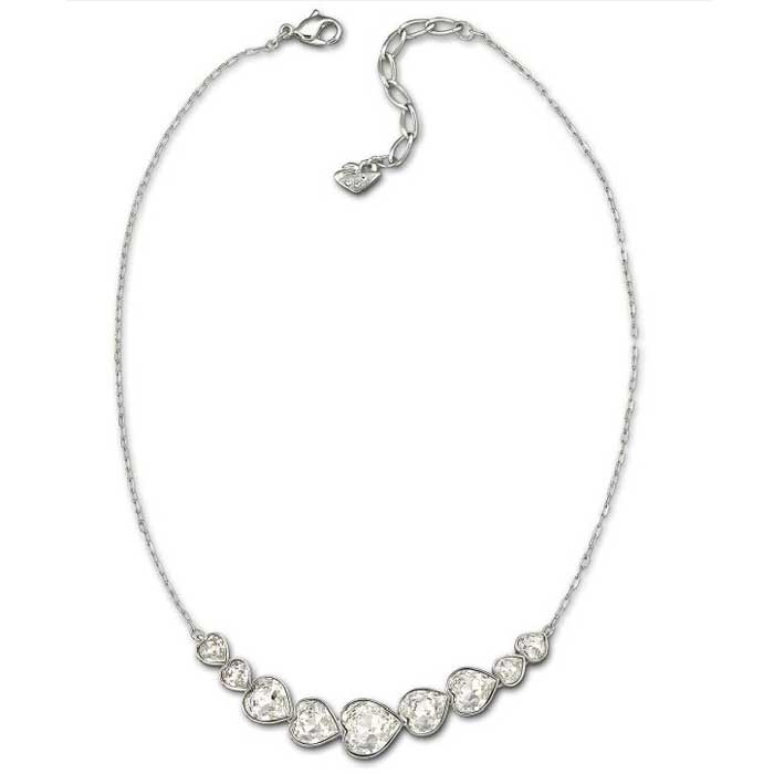 Nouba Halsband Silver/Klar