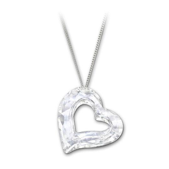 Loveheart Crystal DTL Halsband
