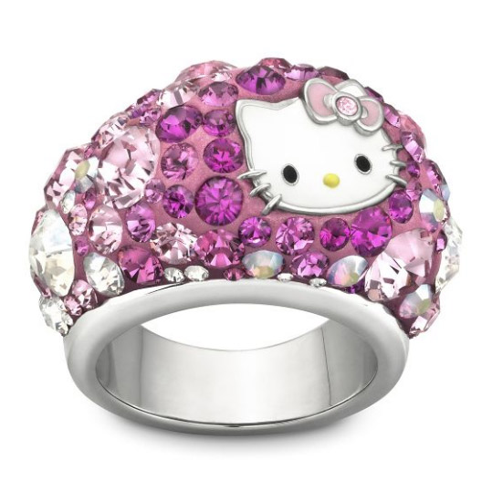 Hello Kitty Chic Ring Small