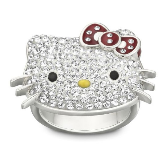 Hello Kitty Polka Dots Ring