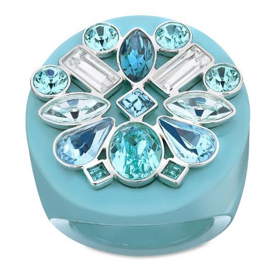 Triumphal Ring Blå