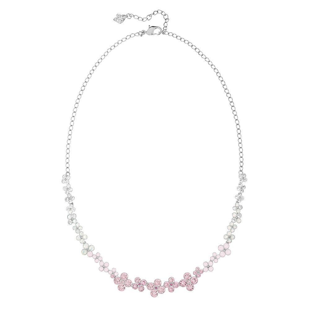 Cinderella Halsband Rhodium/Ljus Kristall