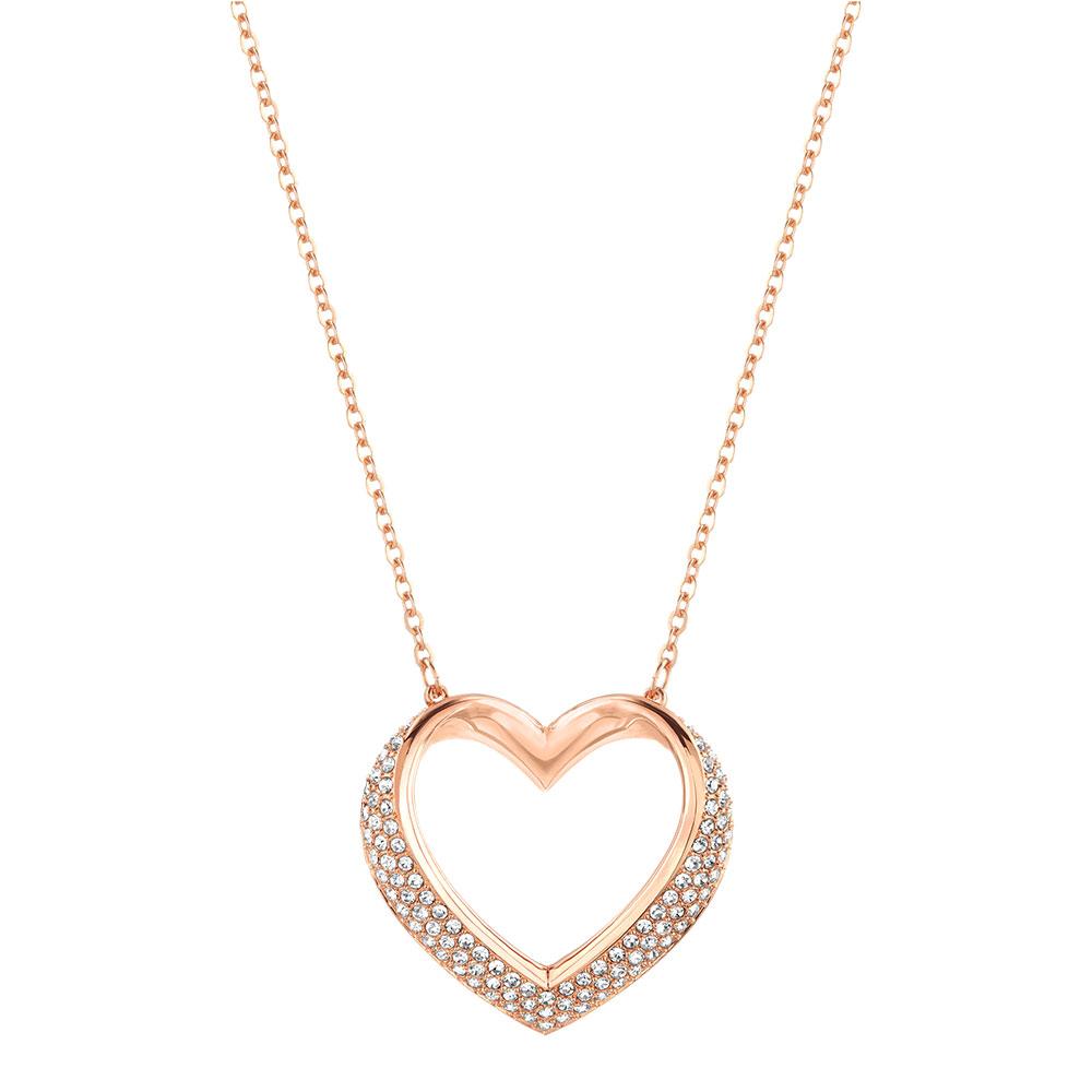 Cupidon Halsband Roseguld/Kristall