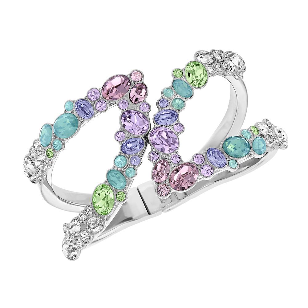 Calista Armband Palladium/Ljus Kristall