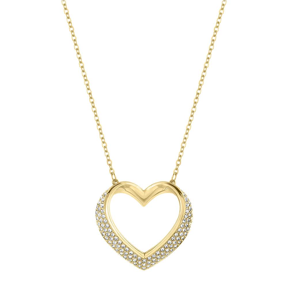 Cupidon Halsband Guld/Kristall