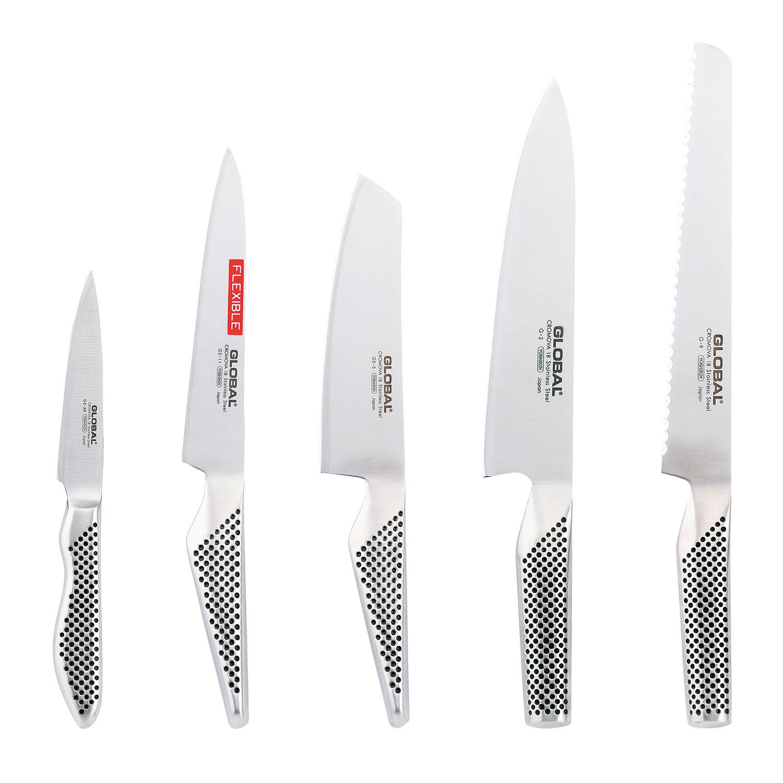 5- Knivset - G2, G9, GS5, GS11, GS38