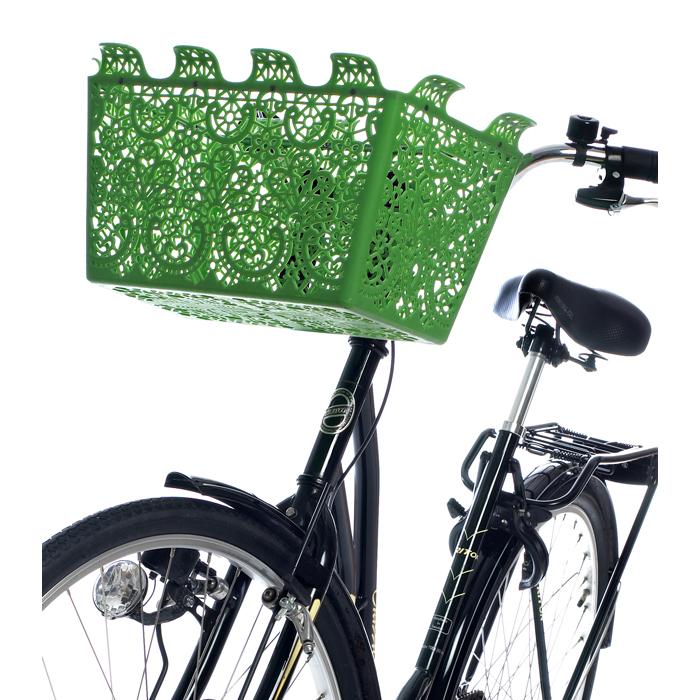 Carrie Cykelkorg Grön
