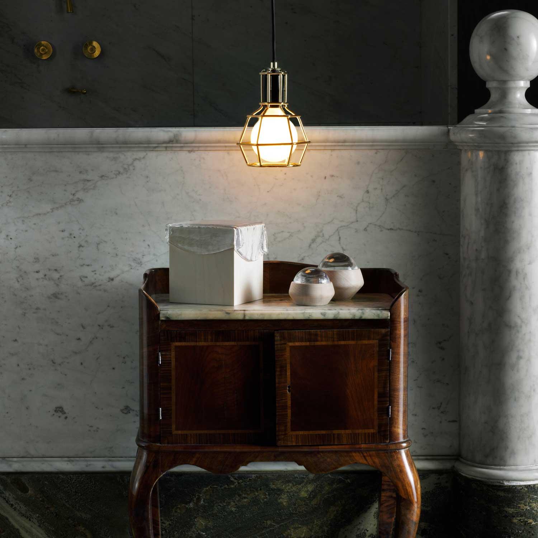 Design house stockholm work lamp vit