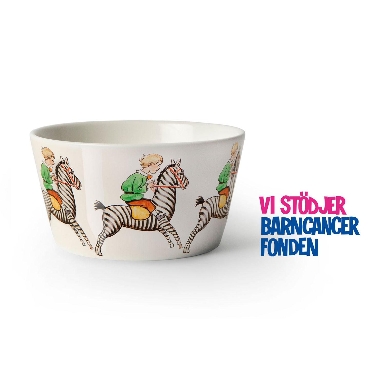 Elsa Beskow Skål 50cl, Zebra, Design House Stockholm