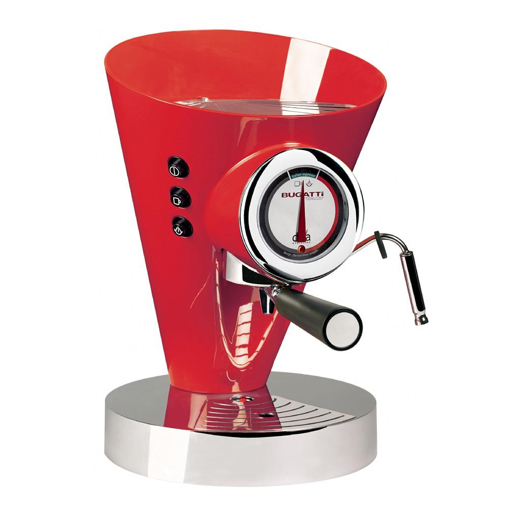 Diva Evolution Kaffe/Espressobryggare Röd
