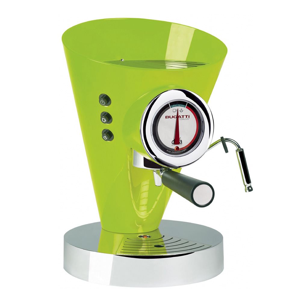 Diva Evolution Kaffe/Espressobryggare Grön