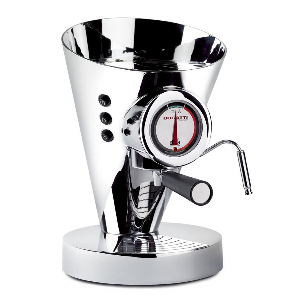 Diva Evolution Kaffe/Espressobryggare Krom