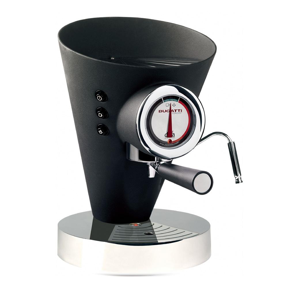 Diva Evolution Kaffe/Espressobryggare Svart