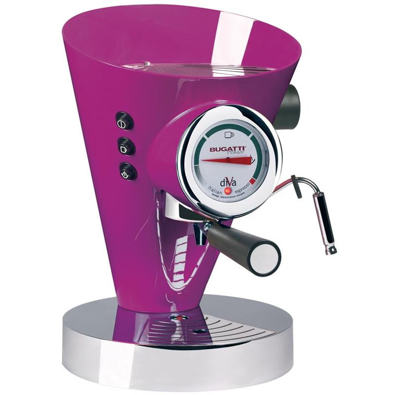 Diva Kaffe/Espressobryggare Lila