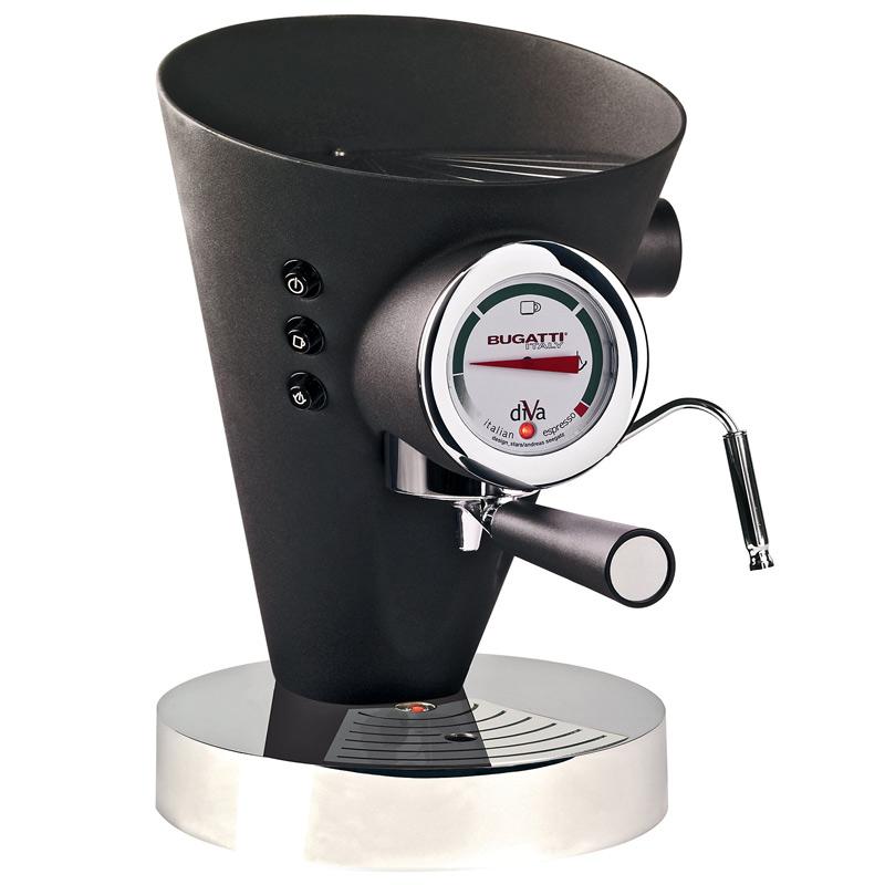Diva Kaffe/Espressobryggare Svart