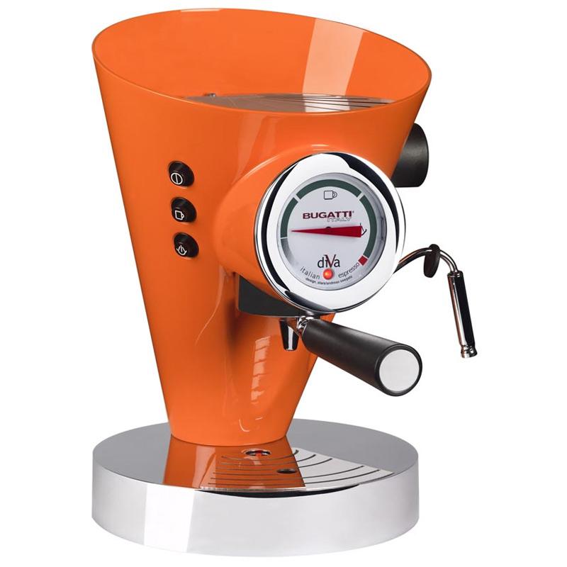 Diva Kaffe/Espressobryggare Orange