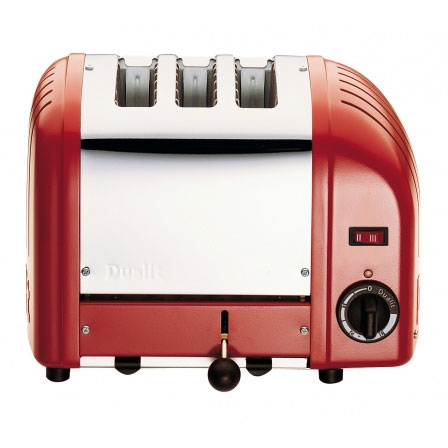 Vario Classic Brödrost 3-Skivor Röd 220V