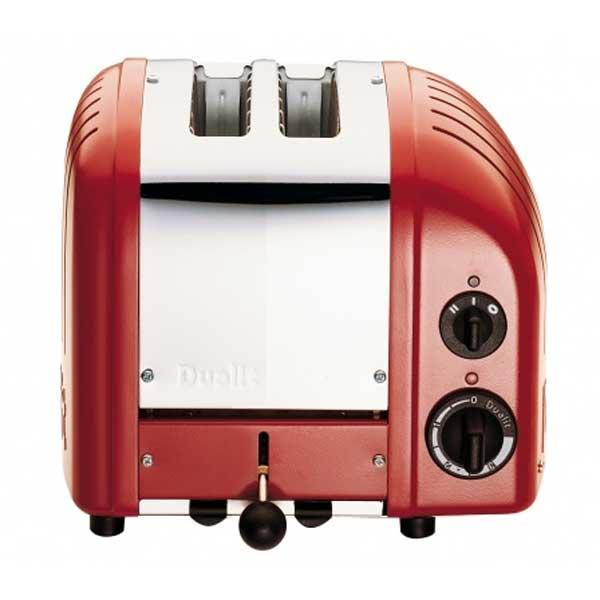 Vario Classic Brödrost 2-Skivor Röd 220V